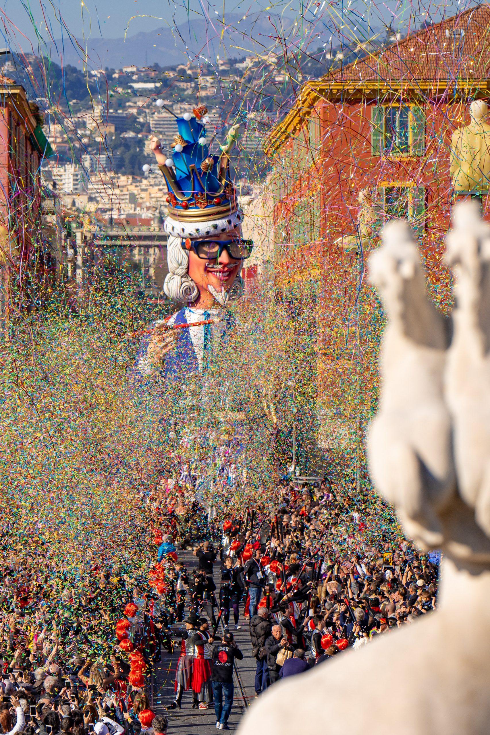 photographe nice bruno persico reportage carnaval bataille de fleur 9